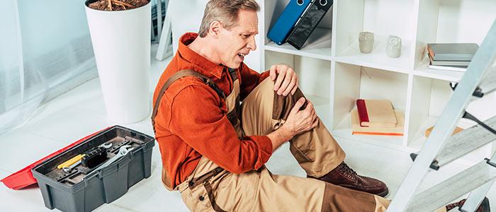 Work Injury Knee Pain